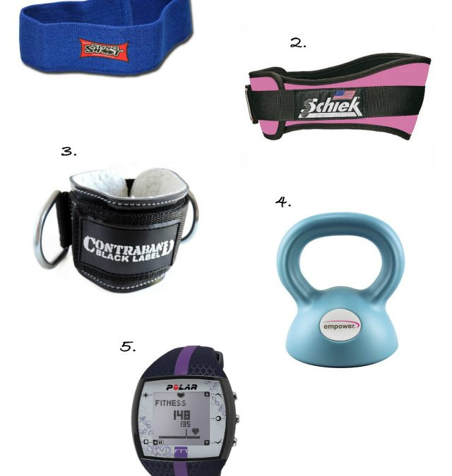 My 5 Gym (and Home Gym) Must-Haves