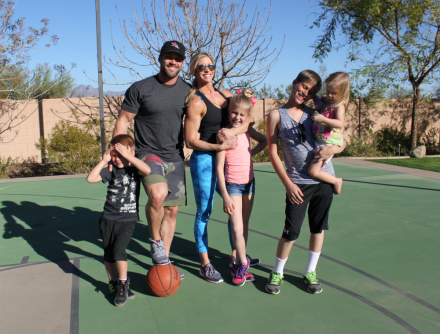 March Madness!!!! A Powell Pack Family Workout
