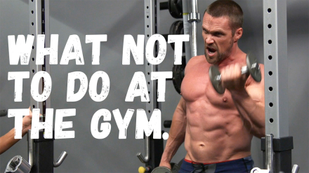 Chris vs. Heidi: What NOT to Do at the Gym (This Gets Ugly) ;)