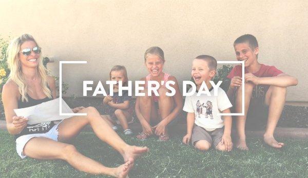 Happy Father's Day Chris + Derek!