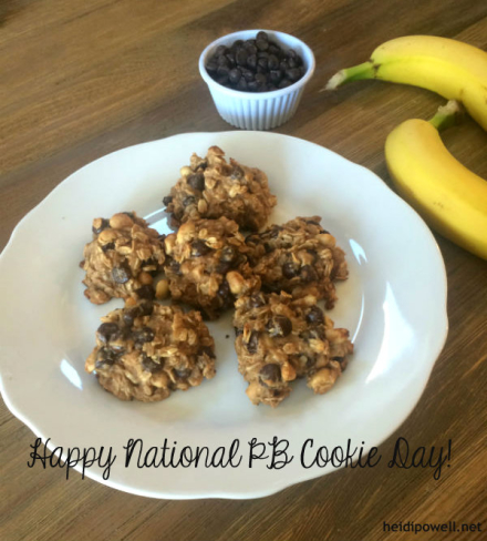 National Peanut Butter Cookie Day… Made Healthy!