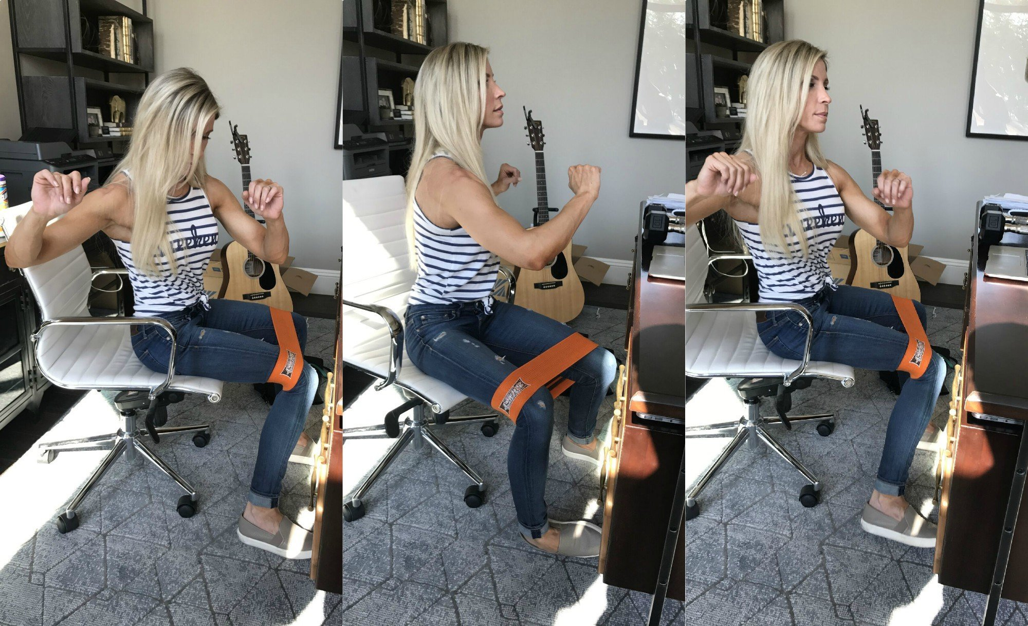 Fabulous Fit On The Job 6 Tips 14 Exercises For The Desk Bound Gmtry Best Dining Table And Chair Ideas Images Gmtryco