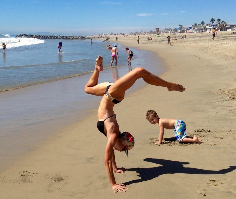 Beach Bum: Increase your calorie burn and build your body at the beach!