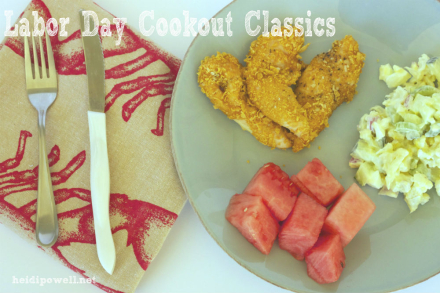 Recipe Rehab: Labor Day Cookout Classics