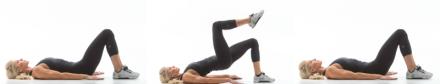 Exercise Movement Glossary: Single Leg Hip Up