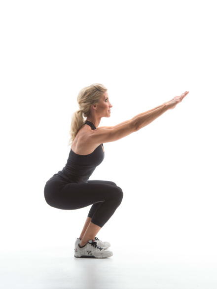 Exercise Movement Glossary: Sumo Squat