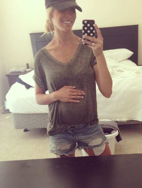 Celebrity Trainer Heidi Powell's Baby Bump - Learn more at https://heidipowell.net/2743