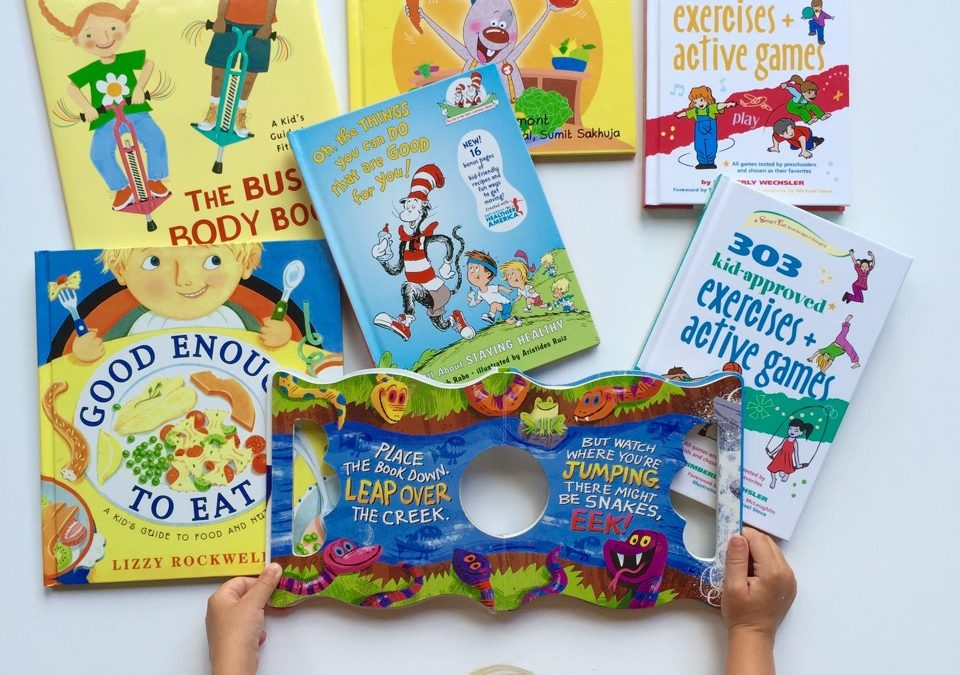 Kids' Fitness Book Roundup + GIVEAWAY