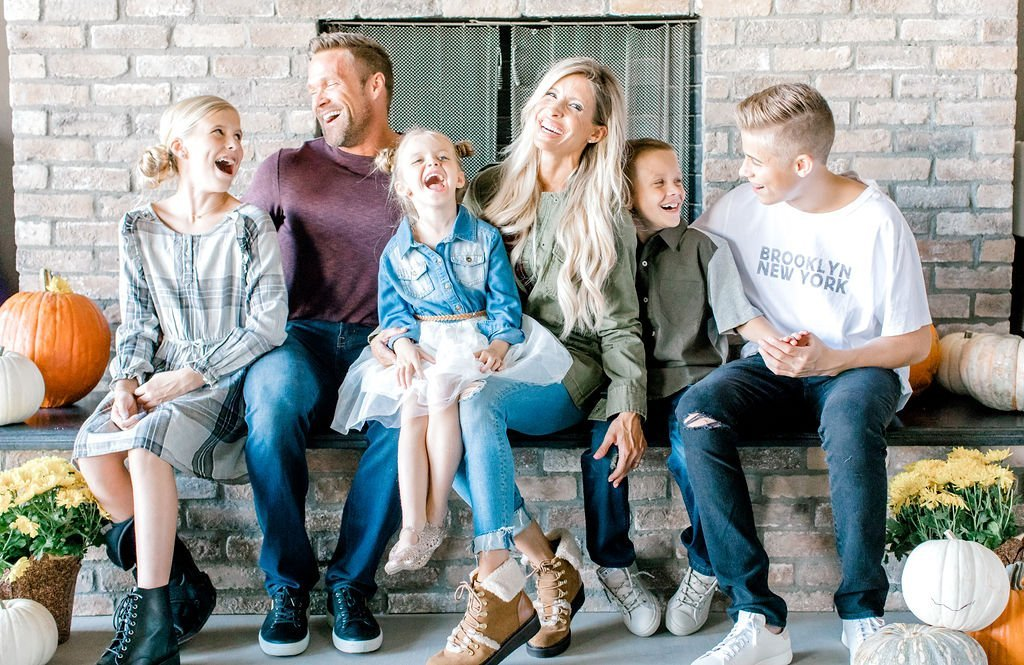 Heidi Powell Family Kids