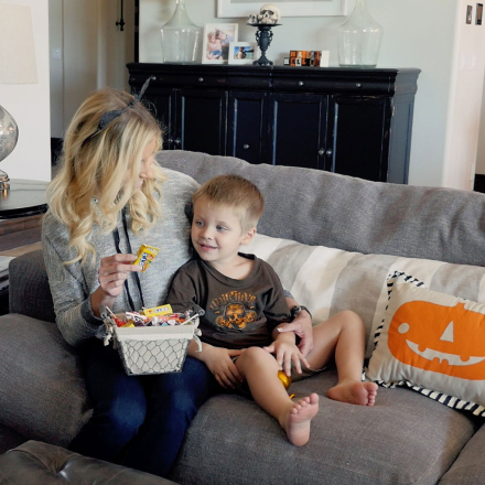 Does the Powell Pack Eat Halloween Candy?
