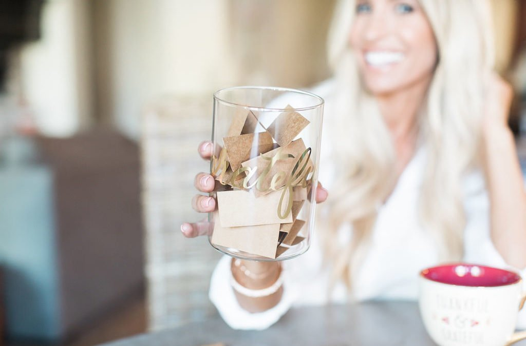 Thanksgiving Crafts for the Family: Gratitude Jar for a Grateful Heart