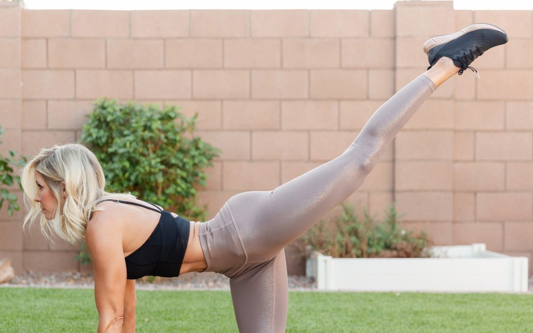 At-Home Five Move Booty Burner Workout