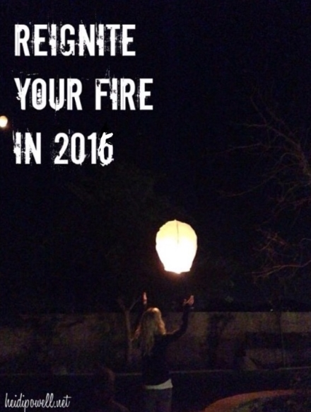 Reignite Your Fire to Achieve Your Goals!