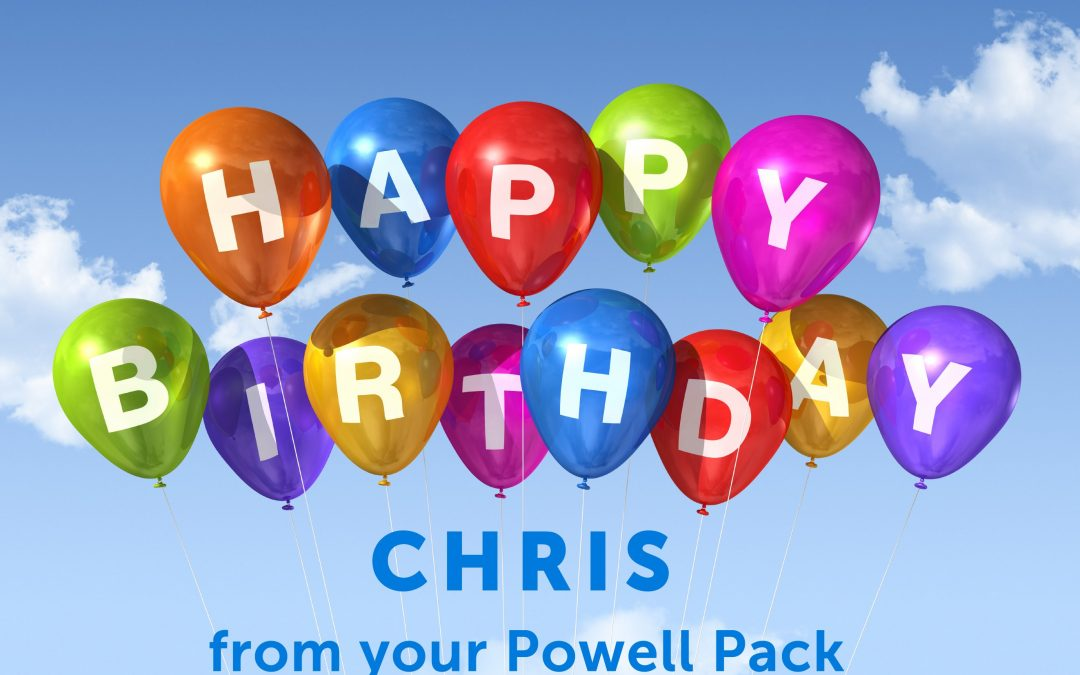 Happy Birthday, Chris!!