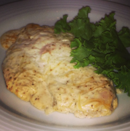What's for Dinner? Garlic Parmesan Chicken