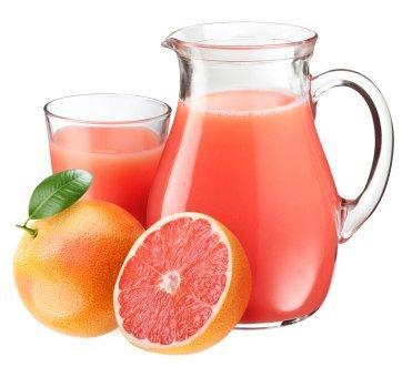 Enjoy Grapefruit Juice!