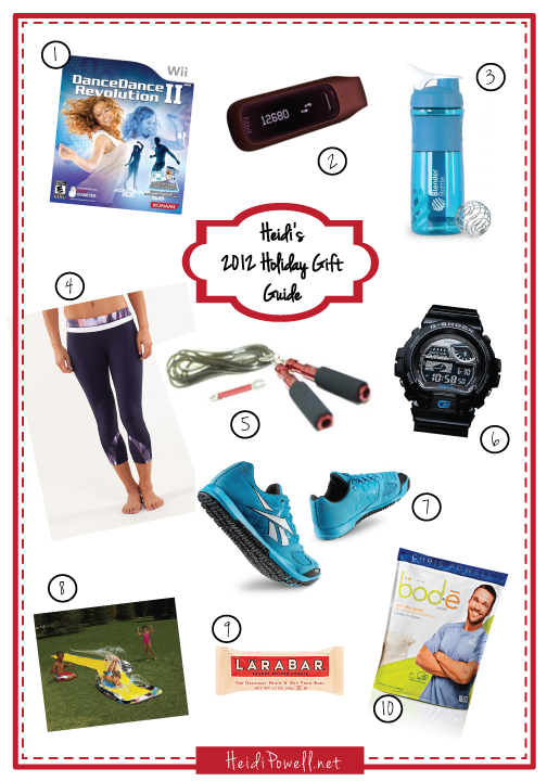 Heidi Powell 2012 Holiday Gift Guide