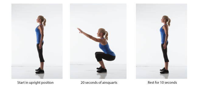 #HeidiPowell 4 Minute Workout #QuickWorkout #BusyMomWorkout #Airsquat - Learn more at https://heidipowell.net/65
