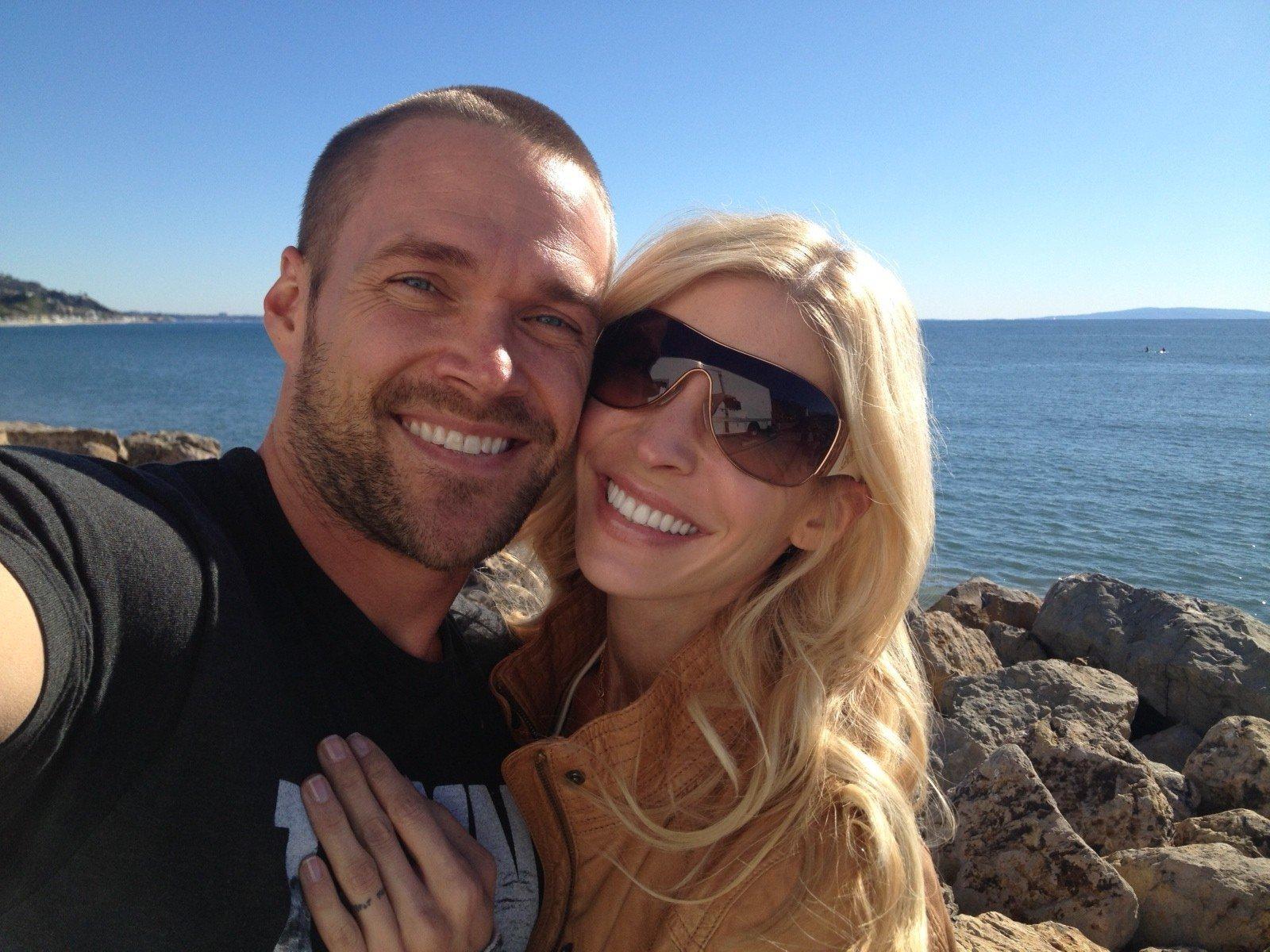 Heidi Powell and husband, Chris Powell at California beach https://heidipowell.net/198