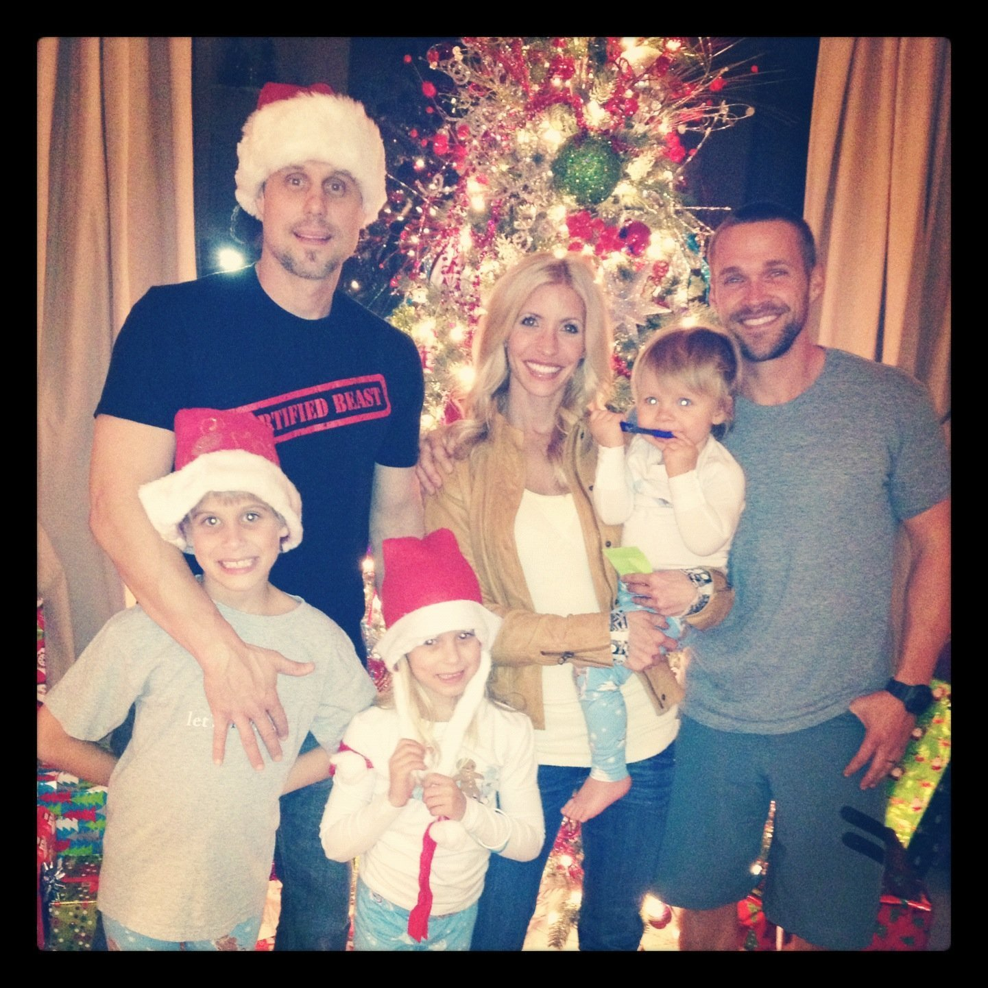 The Powell Family Sharing the Joy and Sharing the Germs - Learn more at https://heidipowell.net/292