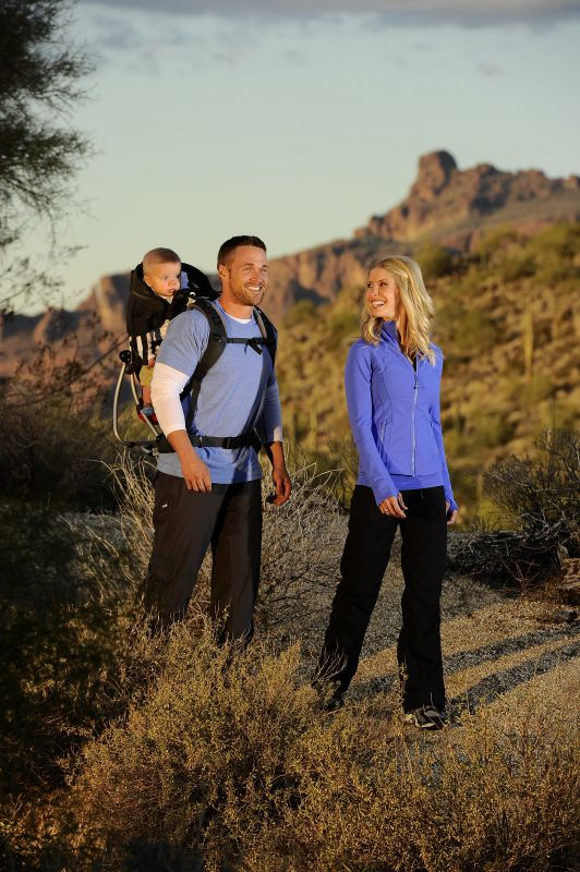 Chris, Cash and I on a family hike!