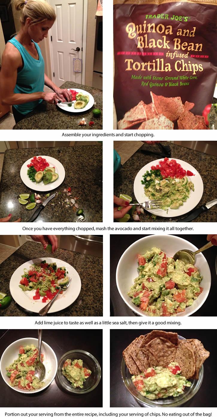 #HeidiPowell #Tortillachips #healthychips #healthysnacks #guacamolerecipe