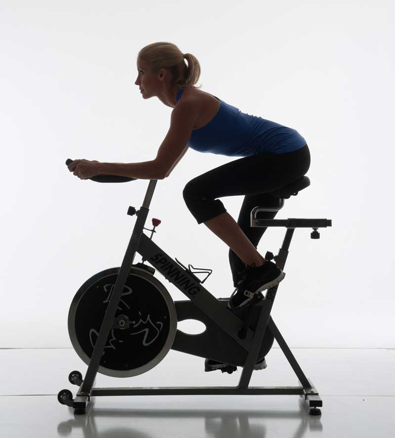 Celebrity Trainer Heidi Powell Cycling - Learn more at http://HeidiPowell.net/1330