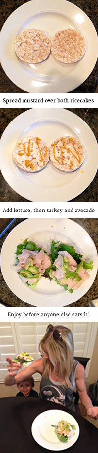 Open faced Lower Carb Turkeywiches - Get the recipe at http://HeidiPowell.net/2239