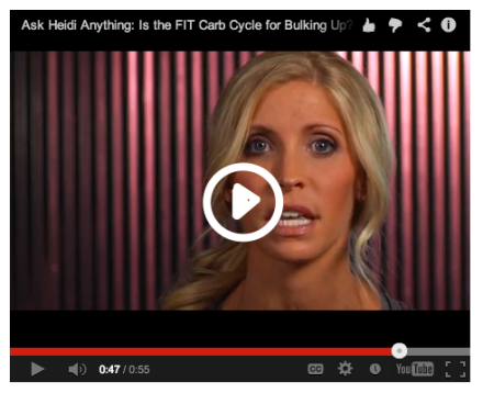 Ask Heidi Anything: Is the Fit Cycle for Losing Weight or Bulking Up?