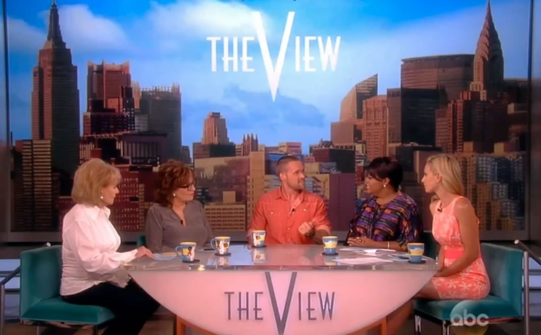 Celebrity Trainer Chris Powell co-hosts on The View - Learn more at https://heidipowell.net/2422