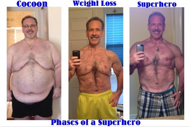 Extreme Weight Loss Mike Epstein Phases of a Superhero - Learn more at https://heidipowell.net/3106