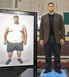 Our good friend, Jonathan McHenry, before and after his own transformation! - Learn more at http://HeidiPowell.net/3109