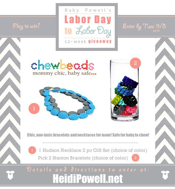 Baby Powell Chewbeads Giveaway