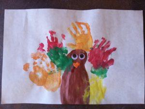 #Cash's Thanksgiving #TurkeyCraft #fortoddlers #PowellPack