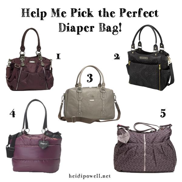 Diaper Bag Debacle