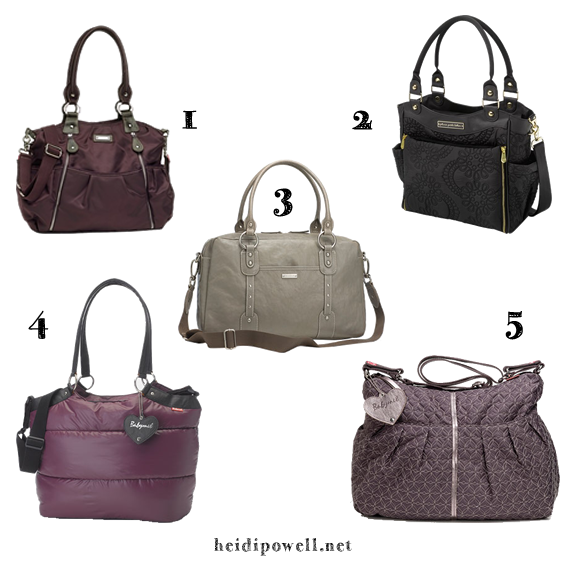 Pick the perfect diaper bag for #BabyPowell at https://heidipowell.net/5289