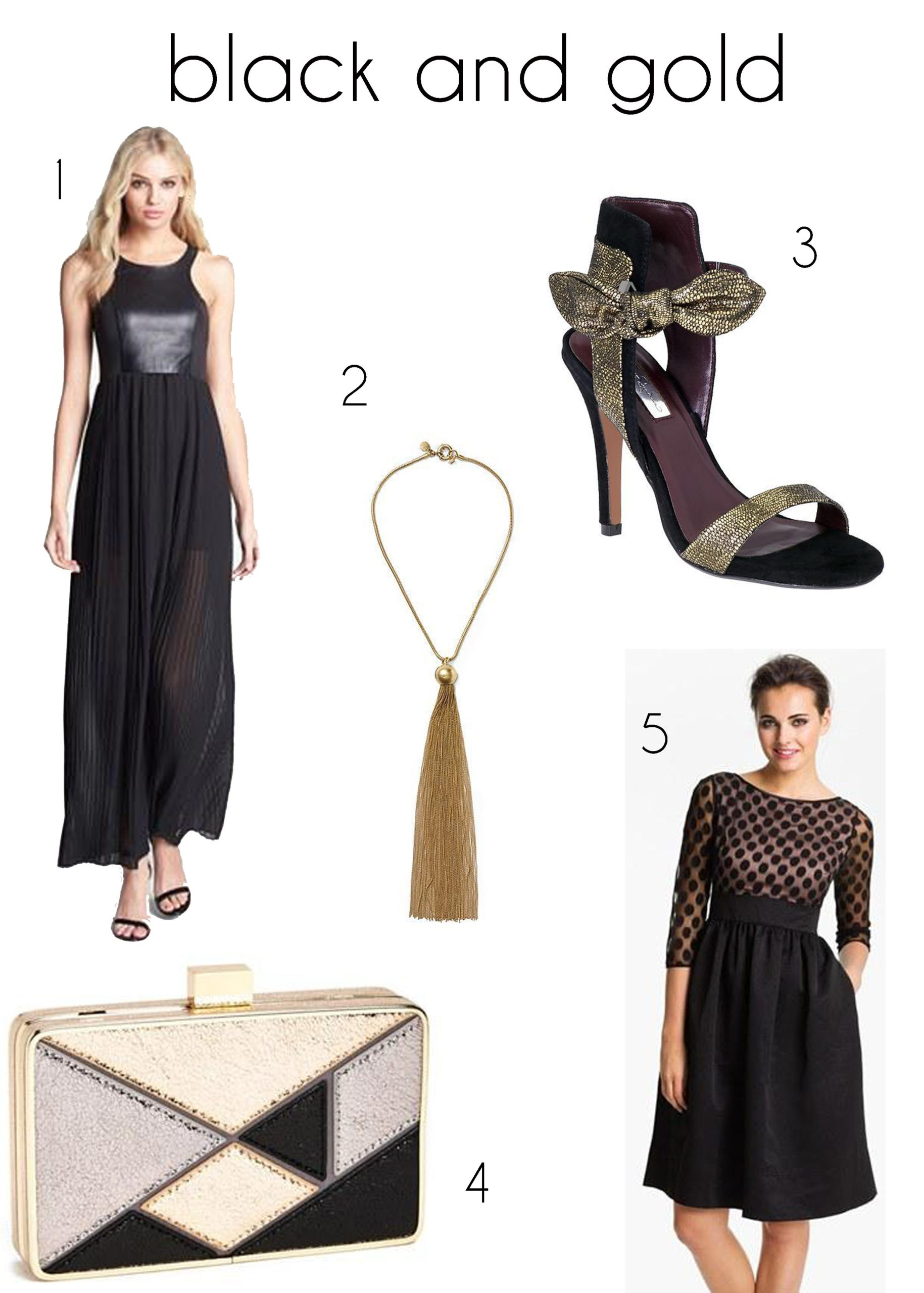 Trade in silver and gold for black and gold at your next party this year https://heidipowell.net/5504