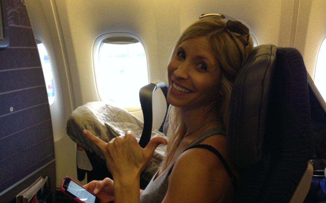 Ruby's First Flight