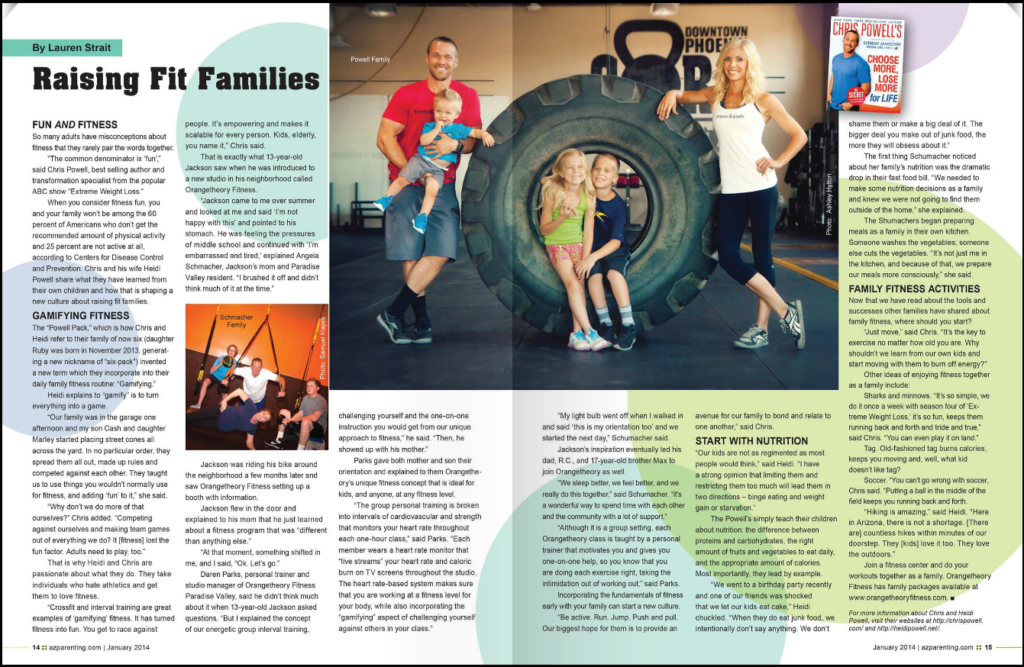 Chris and Heidi Powell: Raising Fit Families