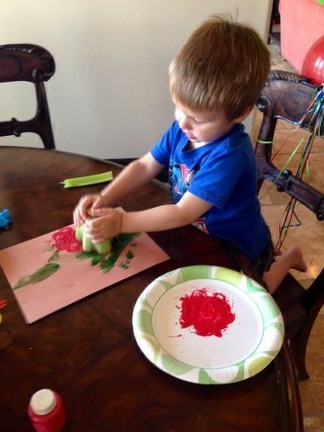 #PowellPack #Craft #ValentinesDay #CeleryCraft #CashPowell