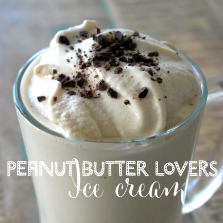 Peanut Butter Lover's Ice Cream