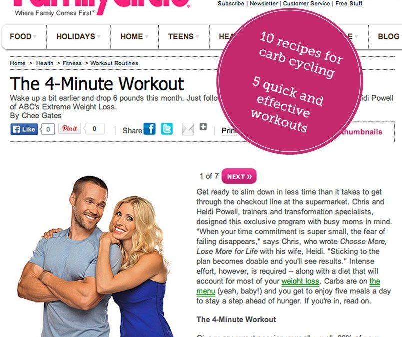 Family Circle: The 4-Minute Workout