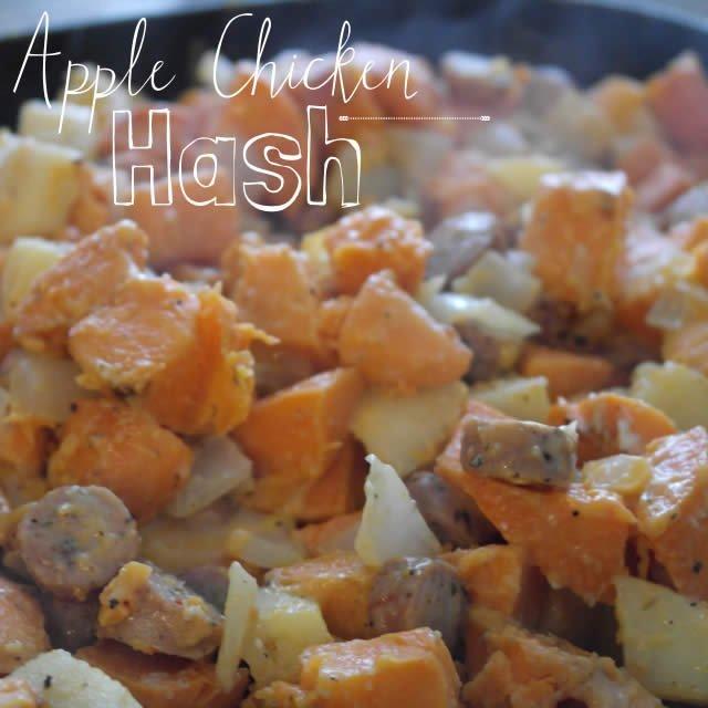 Easter Brunch: Apple Chicken Hash