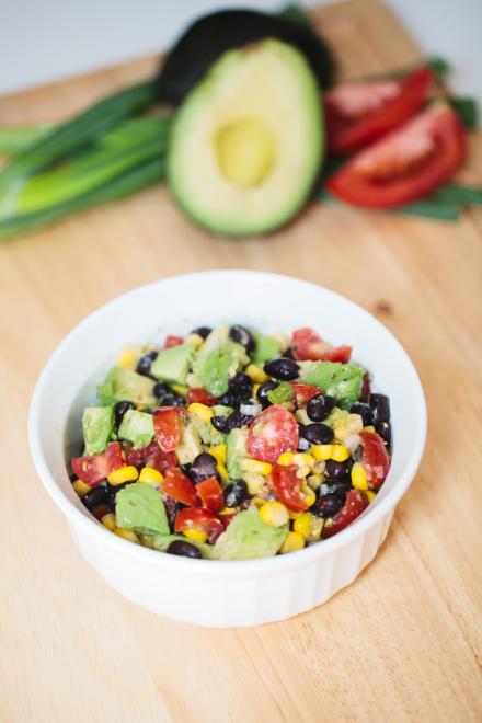 WorldLifestyle.com: Heidi Powell's Corn and Black Bean Salsa