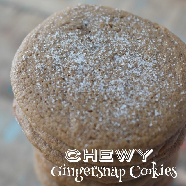 Clean Eats: Chewy Gingersnap Cookies