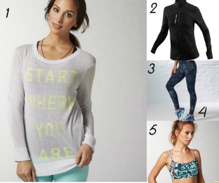 Friday Favorites : Winter Workout Gear