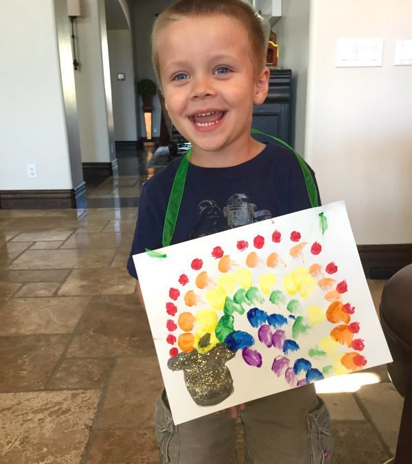 Crafts with Cash: St. Patrick's Day Edition!