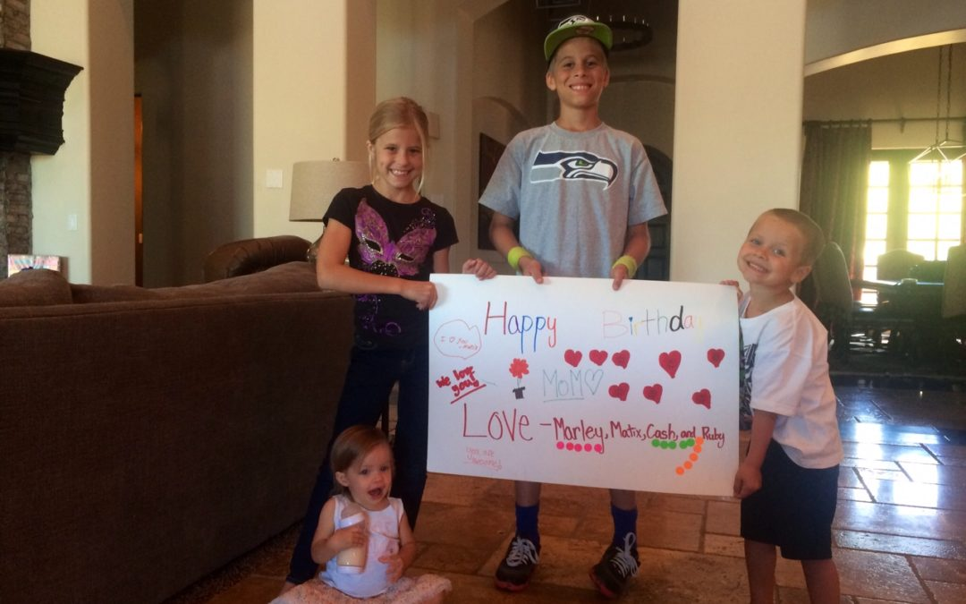 BLOG TAKEOVER: Happy Birthday, Mom!