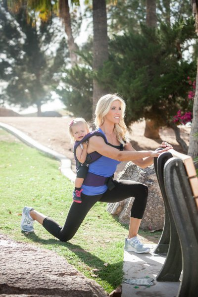 Shape Up for Summer: My Babywearing Workout