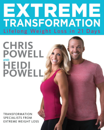 Extreme Transformation: Book Cover Reveal!